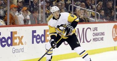 Pittsburgh Penguins defenseman John Marino