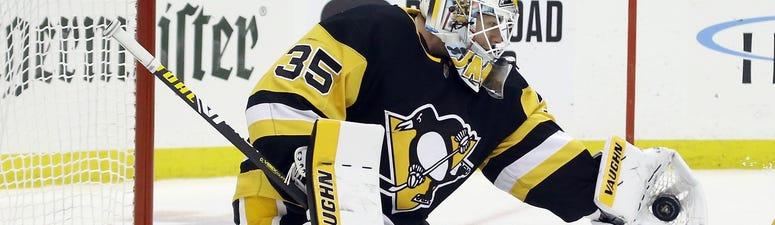 Pittsburgh Penguins goaltender Tristan Jarry