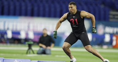 Alex Highsmith at combine