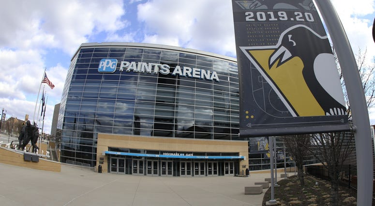 outside PPG Paints arena