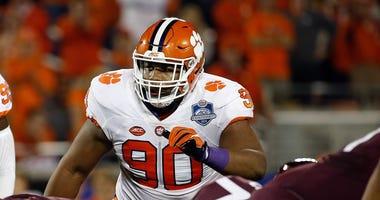 Clemson Tigers defensive tackle Dexter Lawrence