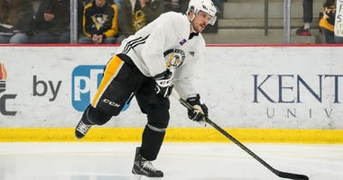 Penguins Captain Sidney Crosby returns to practice Dec 31 2019
