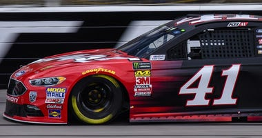 Kurt Busch No. 41 Haas Automation Monster Energy Ford