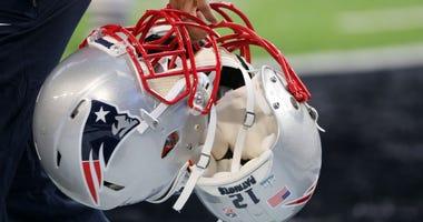 New England Patriots Helmet