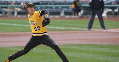 Jameson Taillon is 2-0 following a complete-game shutout Sunday.