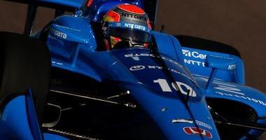 Ed Jones No. 10 NTT Data Chip Ganassi Racing Honda