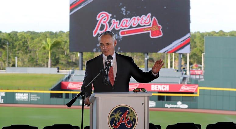 Major League Baseball Commissioner Rob Manfred