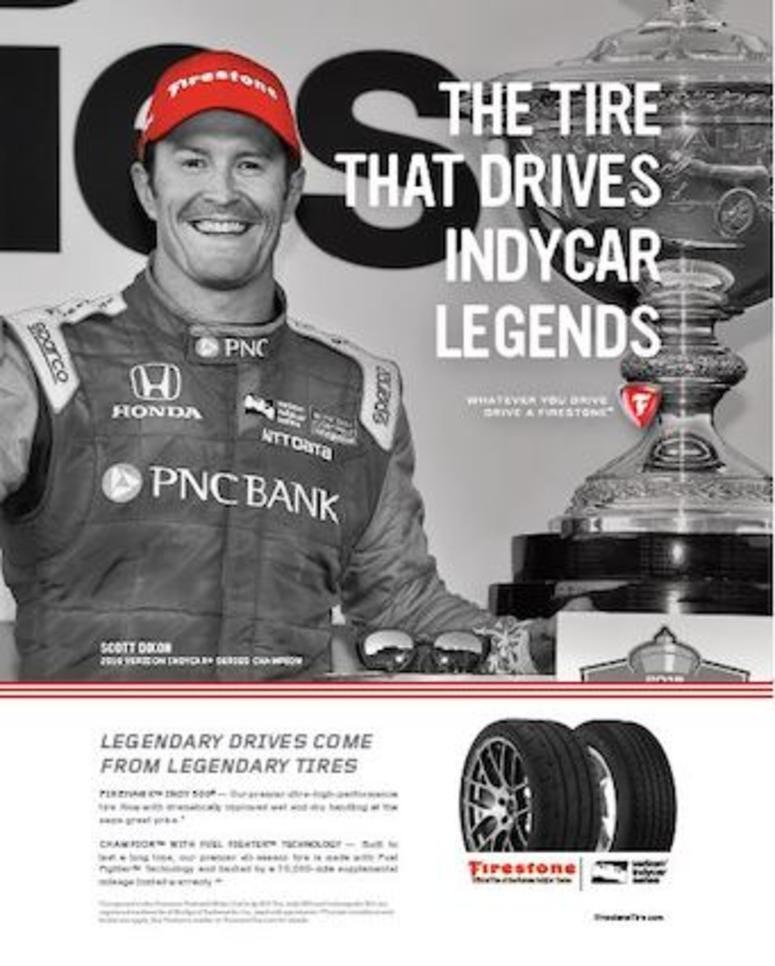 Firestone Scott Dixon Wins IndyCar Championship Ad