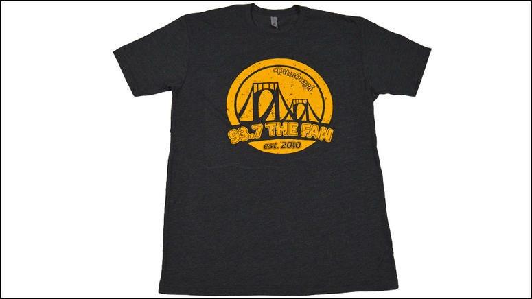93.7 The Fan Bridge T-shirt