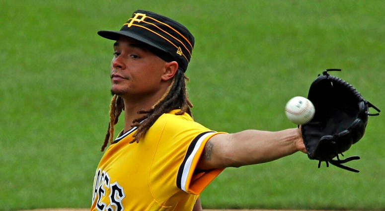 Pittsburgh Pirates starting pitcher Chris Archer