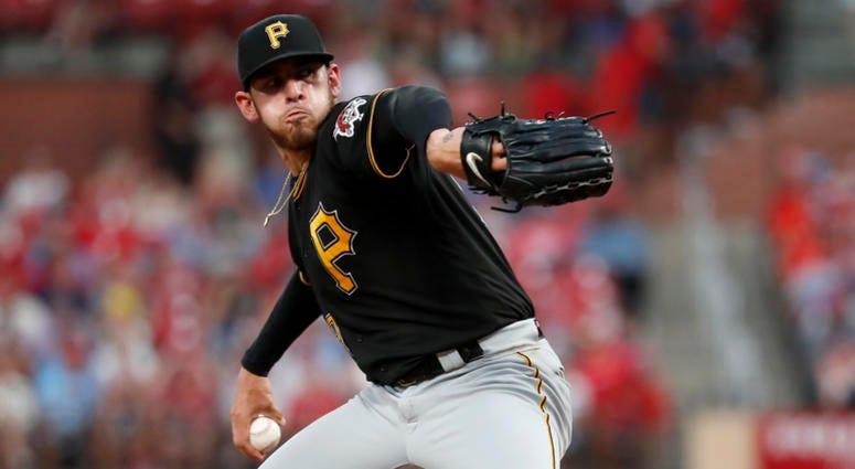 Pittsburgh Pirates starting pitcher Joe Musgrove