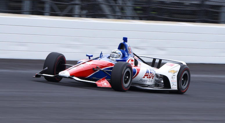 ABC Supply AJ Foyt Racing's Tony Kanaan At Indianapolis Motor Speedway