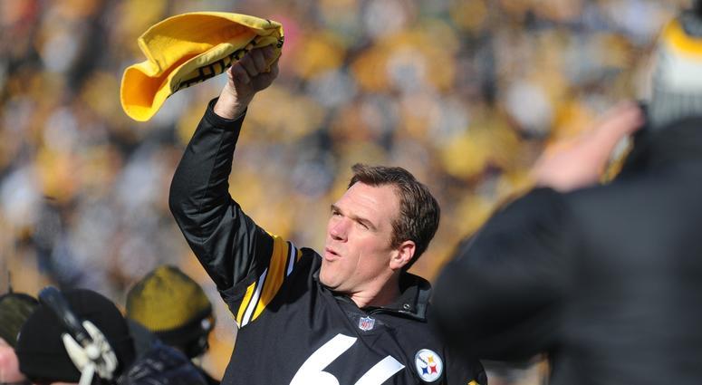Former Pittsburgh Steelers player Alan Faneca