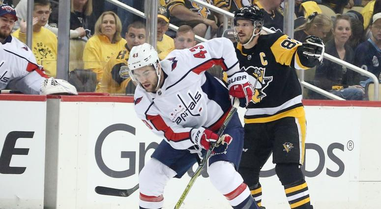 Tom Wilson criticized for questionable hit on Zach Aston-Reese