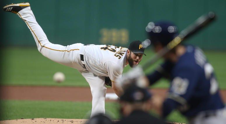 Pirates pitcher Trevor Williams