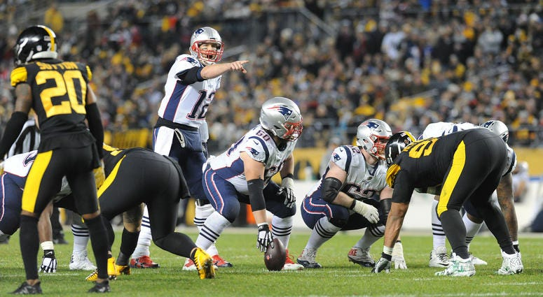 Patriots v. Steelers
