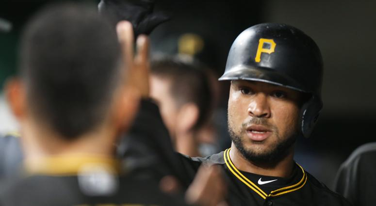 Pittsburgh Pirates catcher Elias Diaz
