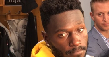 Steelers WR Antonio Brown in 2018