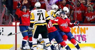 Washington Capitals, Pittsburgh Penguins