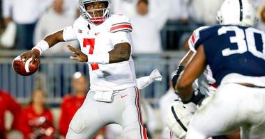 Ohio State quarterback Dwayne Haskins Jr.