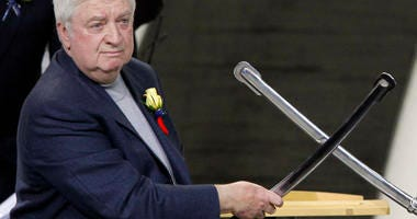 Buffalo Sabres Hall of Fame Class of 2012 inductee Rick Jeanneret