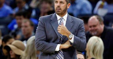 Orlando Magic coach Frank Vogel