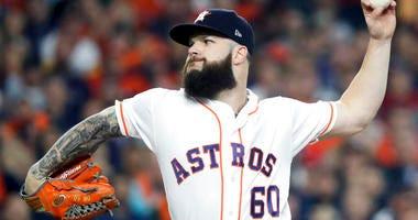 Houston Astros starting pitcher Dallas Keuchel