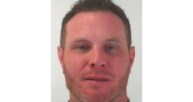 Tarrant County Sheriff's Department in Fort Worth, Texas shows Josh Hamilton, a former Major League Baseball player with the Texas Rangers who was arrested Wednesday,