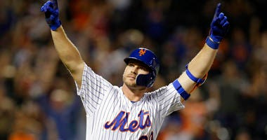 New York Mets' Pete Alonso