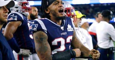 New England Patriots safety Patrick Chung
