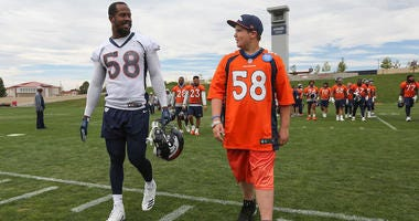 Denver Broncos Give 12-Year-Old Battling Cystic Fibrosis Day As Football Player
