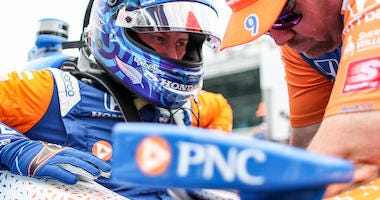 Chip Ganassi Racing's Scott Dixon's No. 9 PNC Bank Honda For Indianapolis 500