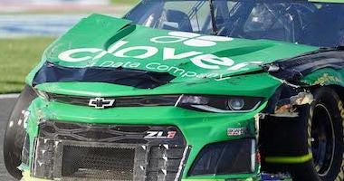 Kyle Larson No. 42 Clover/First Data Chevrolet