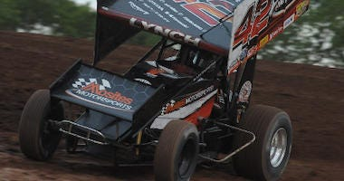 Sye Lynch At Lernerville Speedway