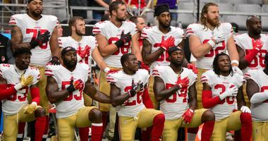 NFL players kneel during National Anthem