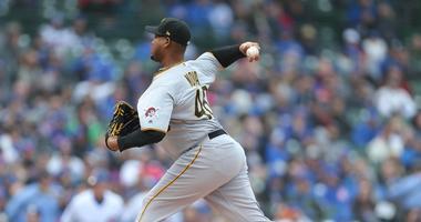 Pittsburgh Pirates starting pitcher Ivan Nova
