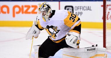 Pittsburgh Penguins goalie Matt Murray