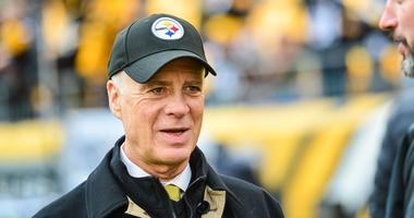 Pittsburgh Steelers president Art Rooney II before a game against at Heinz Field.