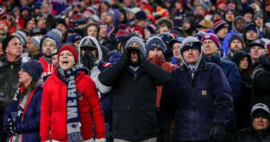 New England Patriots Fans Booing