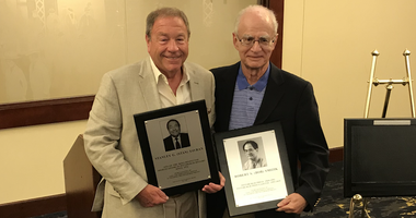 Stan Savran and Bob Smizik added to Pirates media wall of fame