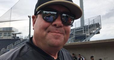 Pitt baseball coach Joe Jordano