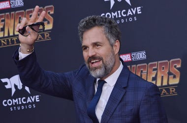 "Mark Ruffalo arrives at Marvel Studios' ""Avengers: Infinity War"" held on Hollywood Blvd in Hollywood, CA on Monday, April 22, 2018"