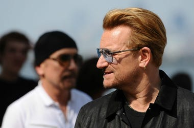 Bono and The Edge of U2