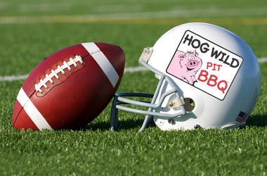 You could win BBQ for 10 for the big game from Hog Wild