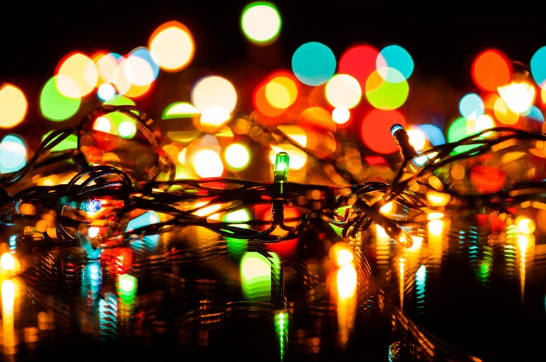 Christmas Lights in March
