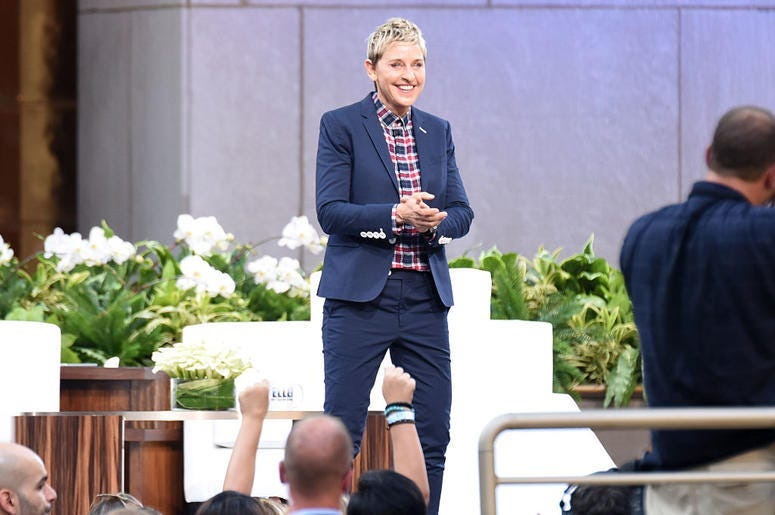 Ellen features local family