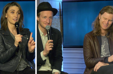 Sara Bareilles and The Lumineers celebrate National Bike Month