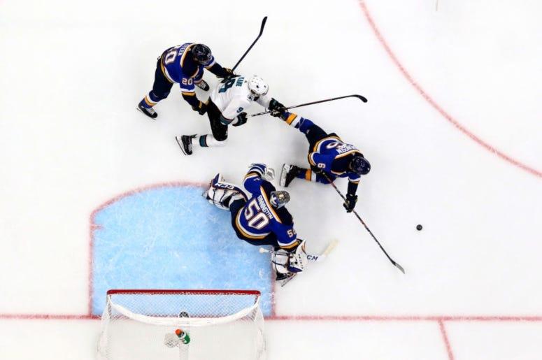 St. Louis Blues vs. San Jose Sharks Game 6