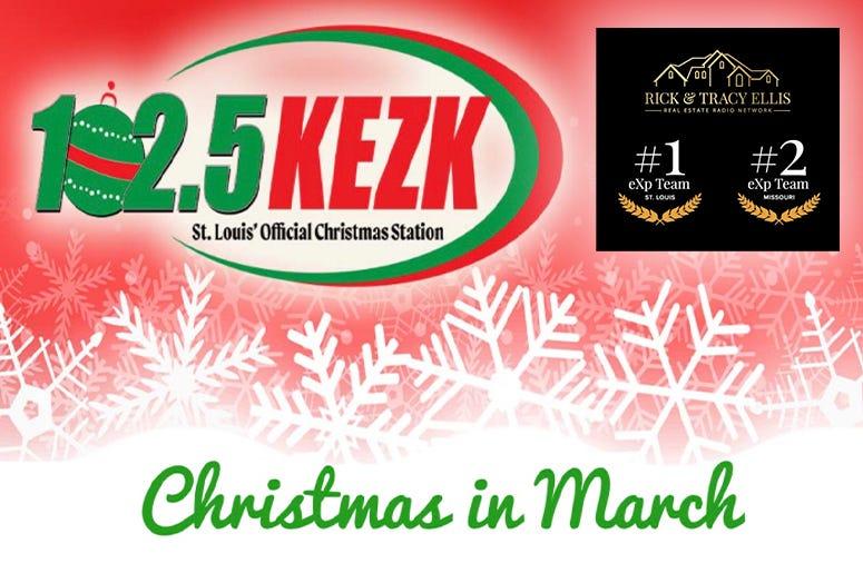 Kezk Christmas Music 2020 KEZK kicks off 'Christmas in March.'   102.5 KEZK