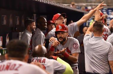 St. Louis Cardinals first baseman Matt Carpenter.